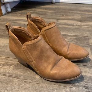 Chic Brown Ankle Boots
